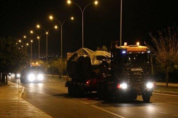 ورود یگان های زرهی ارتش ترکیه به خاک سوریه