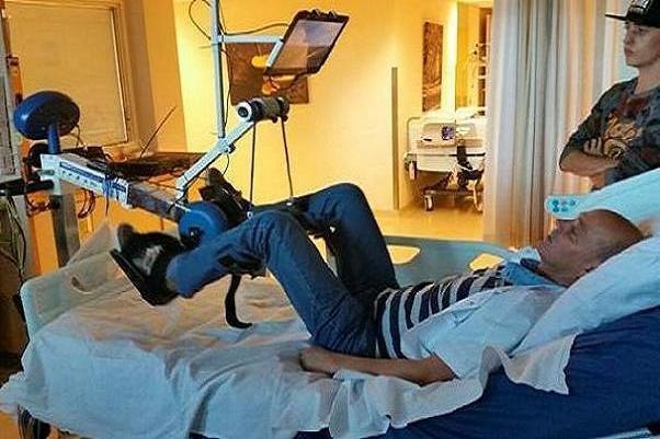 ورزش دوچرخه در رختخواب برای بیماران ICU مفید است