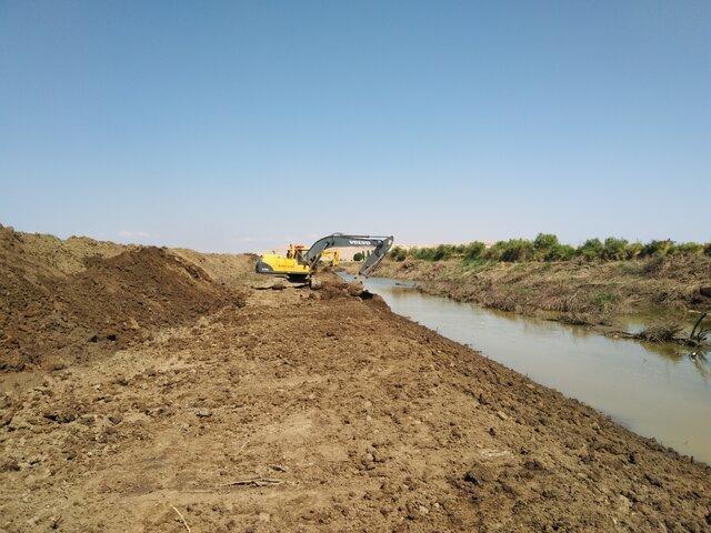 لایروبی 153 کیلومتر از رودخانه های گلستان پس از سیلاب امسال