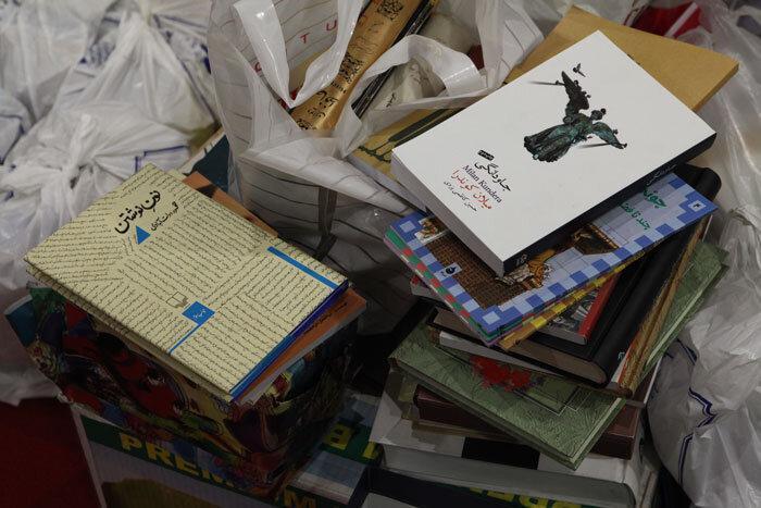راه اندازی پویش اهدای کتاب به بچه ها کار