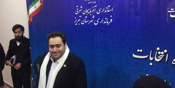 داماد روحانی در حوزه انتخابیه تبریز ثبت نام کرد ، برای نامزدی مجلس از پدرزنم اجازه گرفتم