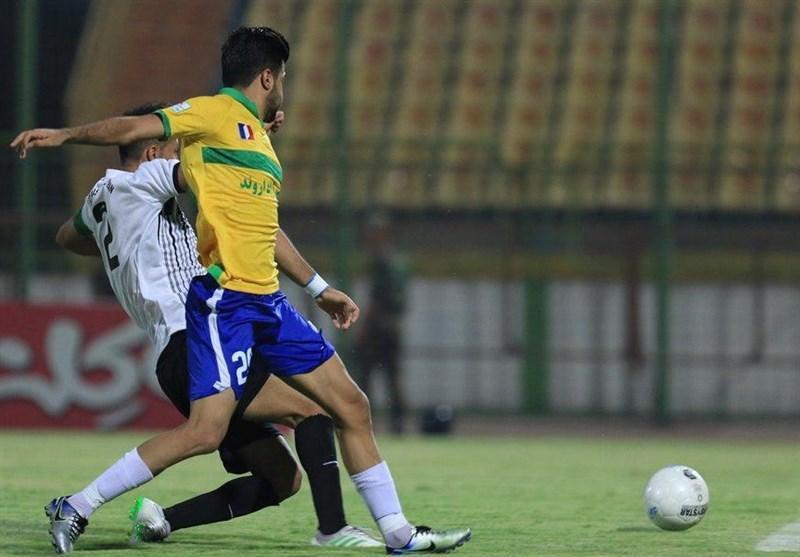لیگ برتر فوتبال، صنعت نفت پیروز یک نیمه ای ملاقات برابر شاهین