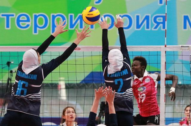 شروع کار بانوان والیبالیست در AVC CUP، قزاقستان اولین حریف ایران