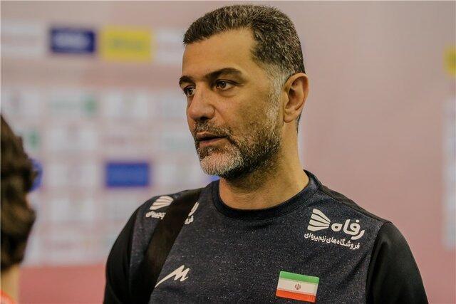 عطایی: نبرد اصلی والیبال ایران از فردا برابر چین شروع می گردد