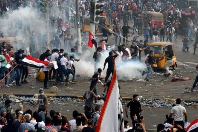 فیلم، عراق روزهای خوبی را سپری نمی کند، نجف قفل شد!