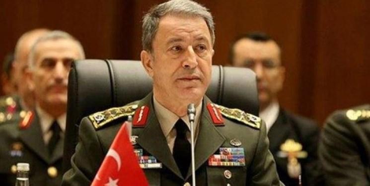 وزیر دفاع ترکیه، توافق دریایی با لیبی را دفاع از حقوق خود خواند