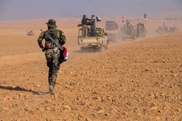 عملیات ضد تروریستی حشد شعبی در محور شرقی الأنبار