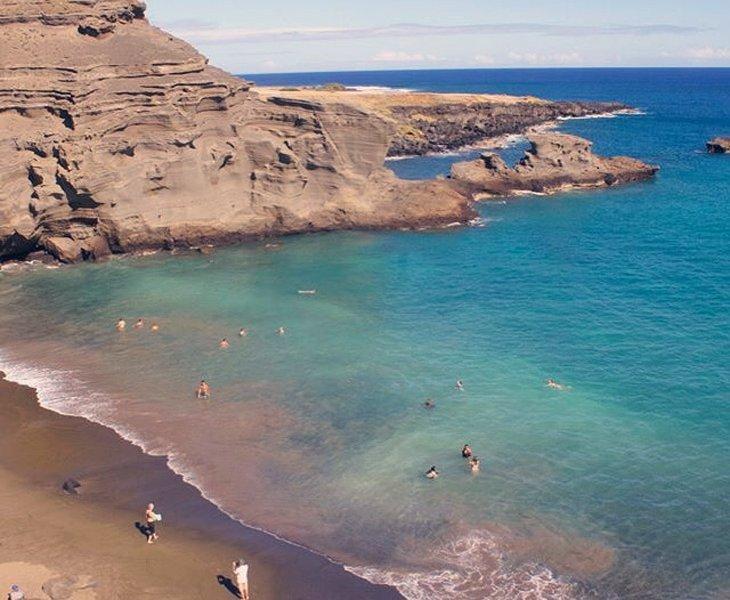 ساحل سبز (الماس هاوایی) - Papakōlea- هاوایی
