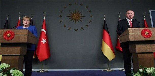 گفتگوی تلفنی اردوغان و مرکل درباره آتش بس ادلب