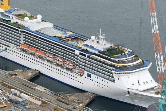 شیوع کرونا در کشتی کروز ایتالیایی در ژاپن