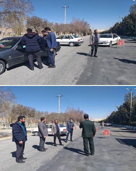 راه اندازی ایستگاه های تب سنجی در ورودی های شهر اقلید