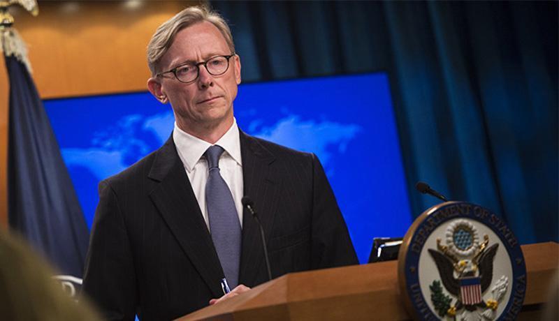 برایان هوک: فشار حداکثری بر ایران ادامه می یابد