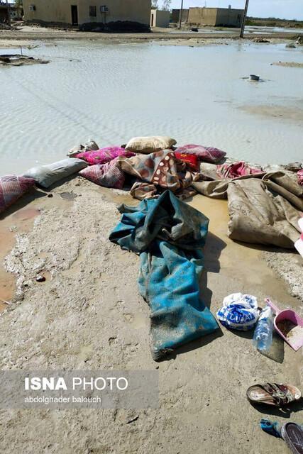 40 روستای شهرستان دشتیاری سیستان وبلوچستان در محاصره سیل