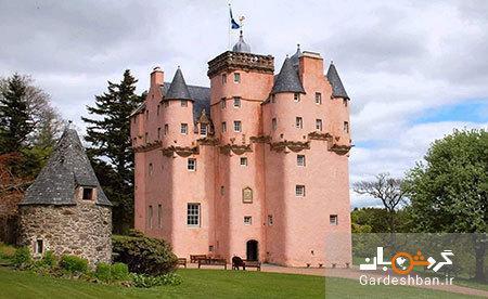 کرایژیوار؛ قلعه ای صورتی در اسکاتلند
