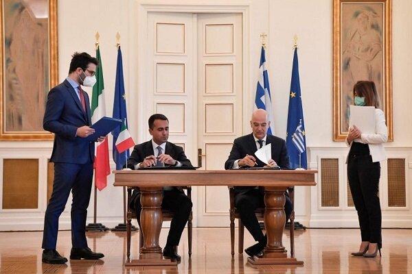 مشخص مرزهای دریایی یونان و ایتالیا و شکست استراتژی ترکیه