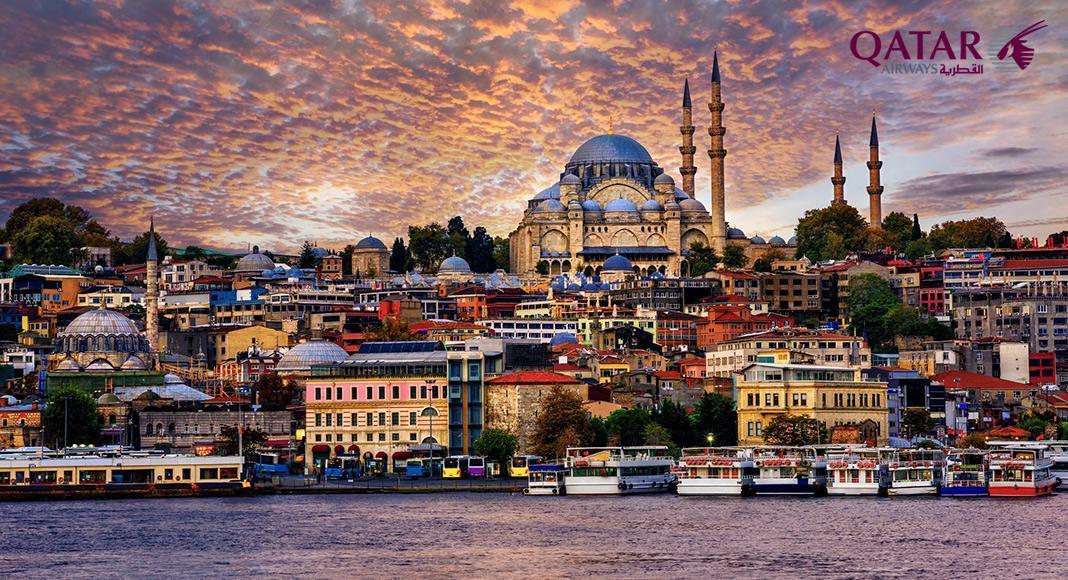 پروازهای غیر مستقیم ایران ترکیه با قطر ایرویز