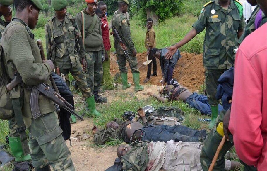 خبرنگاران افراد مسلح 17 نفر را در کنگو کشتند