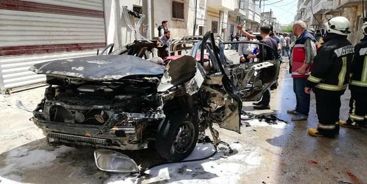 انفجار خودروی بمب گذاری شده در مناطق تحت سیطره ترکیه در شمال سوریه