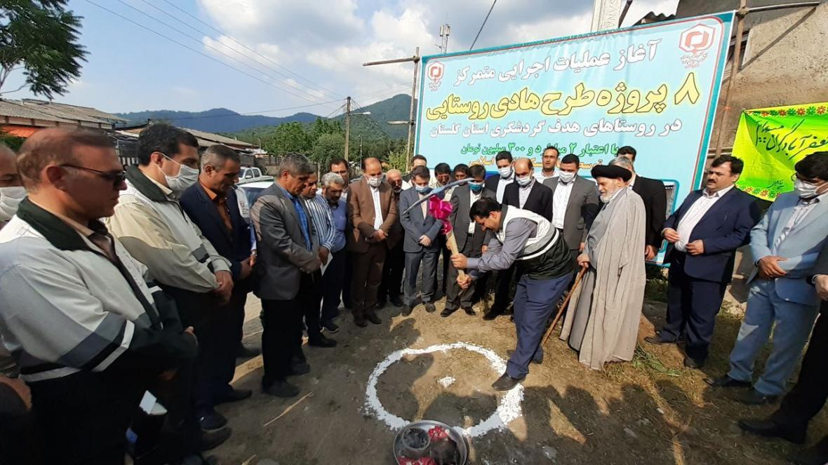 خبرنگاران شروع ساخت 400 خانه برای جوانان روستایی در گلستان