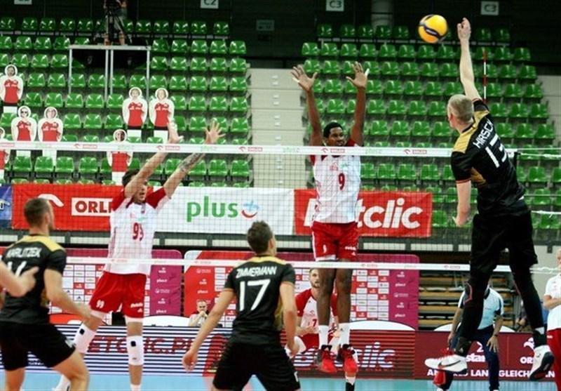 ملاقات محبت آمیز والیبال، لهستان از سد آلمان گذشت