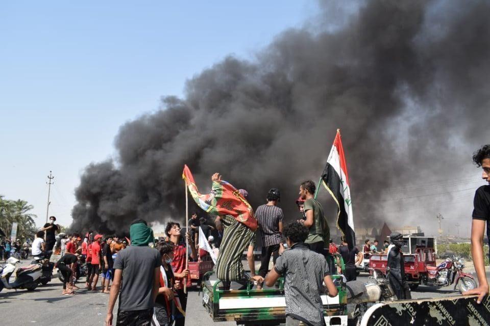 بحران برق و گرما به موج اعترضات عراق دامن زد