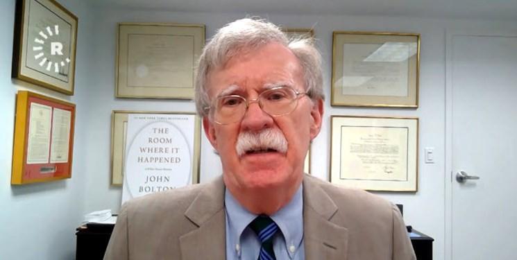 جان بولتون: عراق باید تجزیه شود؛ هدف آمریکا در ایران باید تغییر حکومت باشد