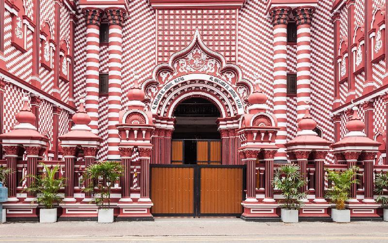 مسجد سرخ کلمبو، عکس