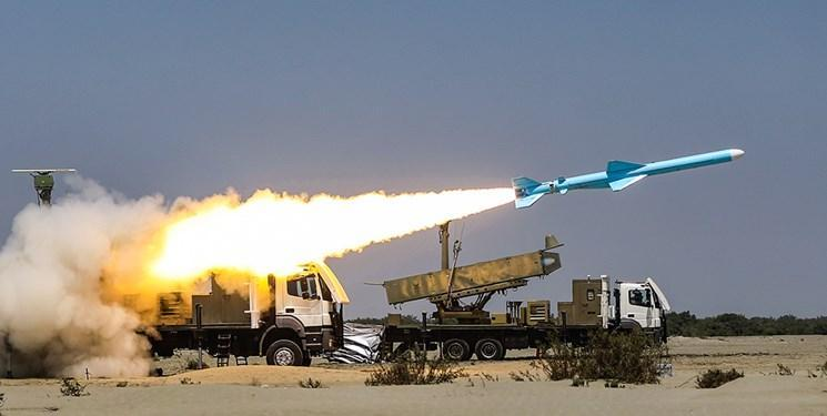 موشک قادر در رزمایش ذوالفقار ارتش شلیک شد