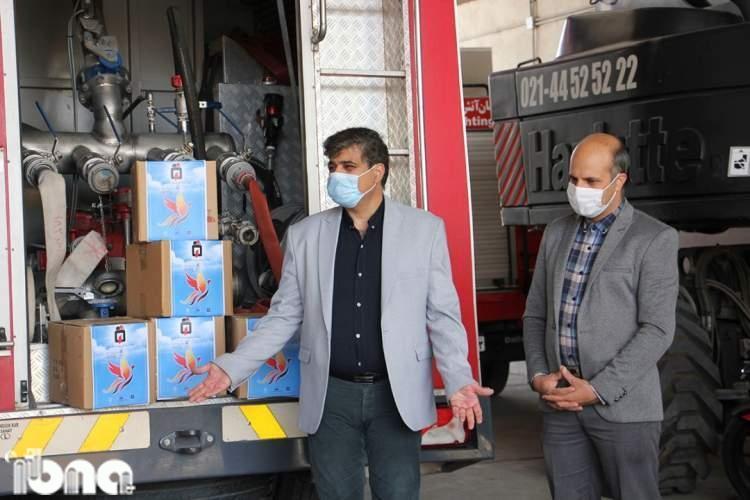 5 ایستگاه آتش نشانی شیراز به کتابخانه در گردش مجهز شدند