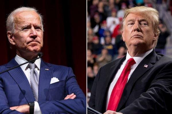 نظرسنجی های انتخاباتی و سردرگمی بایدن و ترامپ در 2 ایالت