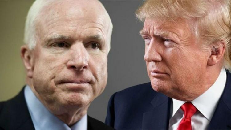 انتقام روح مک کین از ترامپ