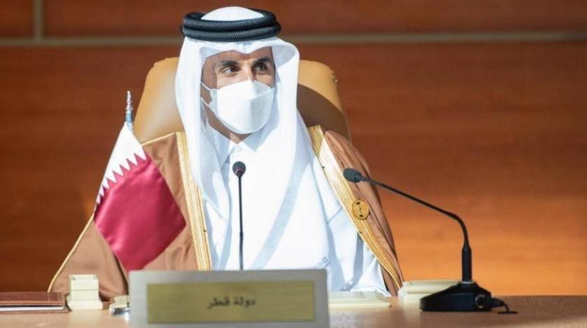 خبرنگاران امیر قطر از تقویت رویارویی با چالش ها در نشست عربستان گفت