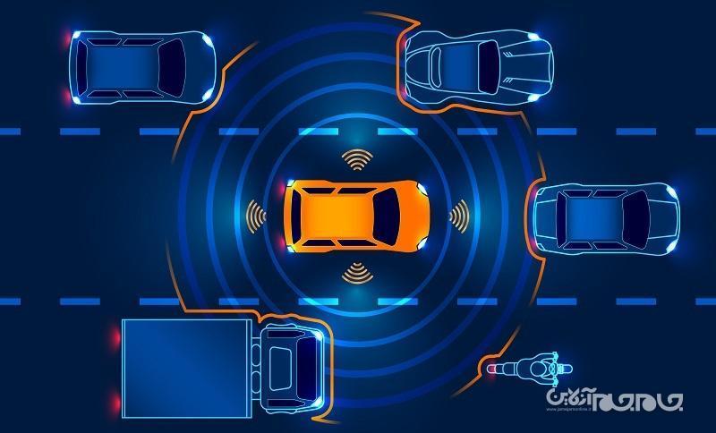 ثبت اختراع جدید اپل سیستم تشخیص موانع Apple Car را نشان می&zwnjدهد