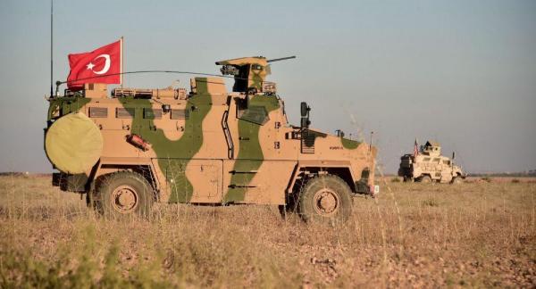 حمله دوباره ارتش ترکیه به شرق سوریه