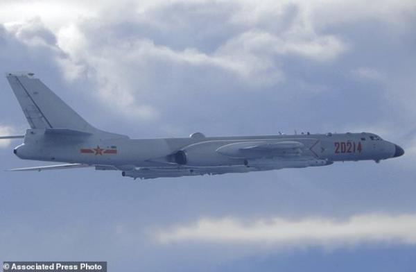 اقدام تایوان در واکنش به پرواز جنگنده های چینی در حریم هوایی جزیره