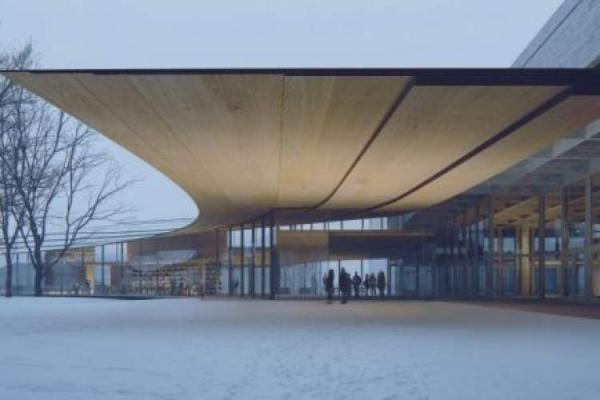 طراحی زیبای این کتابخانه منحصر به فرد در نروژ