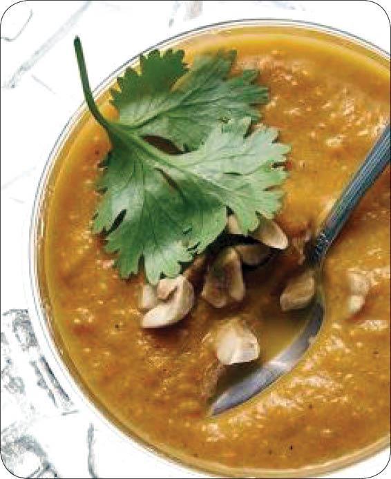 طرز تهیه سوپ خوشمزه هویج به سبک تایلندی