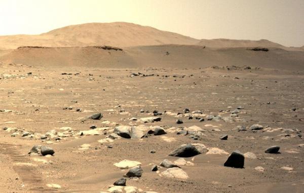بالگرد نبوغ در سومین تلاش یک پرواز طولانی را در مریخ تجربه کرد