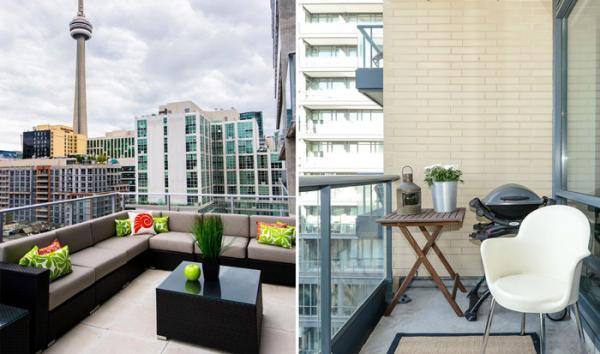 تفاوت تراس و بالکن و کاربرد آن ها از دیدگاه معماری