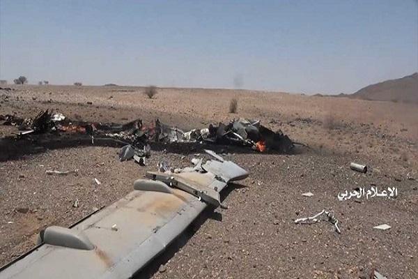 سرنگونی یک هواپیمای جاسوسی ائتلاف سعودی در آسمان الجوف