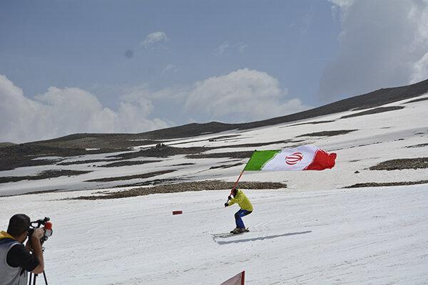 گزارش تصویری، سرانجام فصل اسکی در پیست توچال