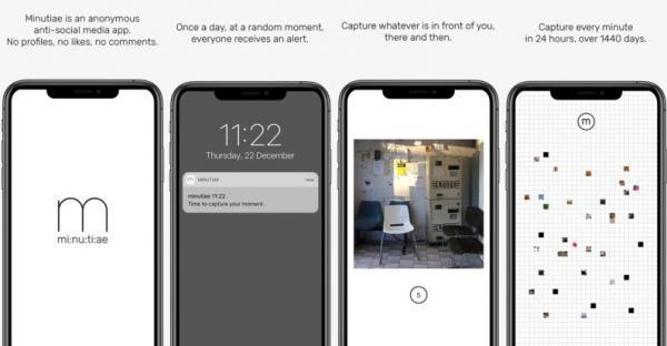 اپلیکیشن Minutiae : اپلیکیشنی که می خواهد ما را از جوزدگی و فشار جامعه خلاص کند و جنبه اجتماعی احمقانه اپلیکیشن های دیگر را نداشته باشد!