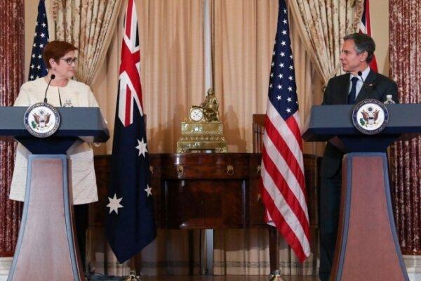 تور استرالیا: آمریکا در برابر فشارهای چین در کنار استرالیا می ایستد